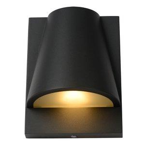 Lucide LIAM - Wandlamp Buiten - 1xGU10 - IP44 - Antraciet - 29898/01/29