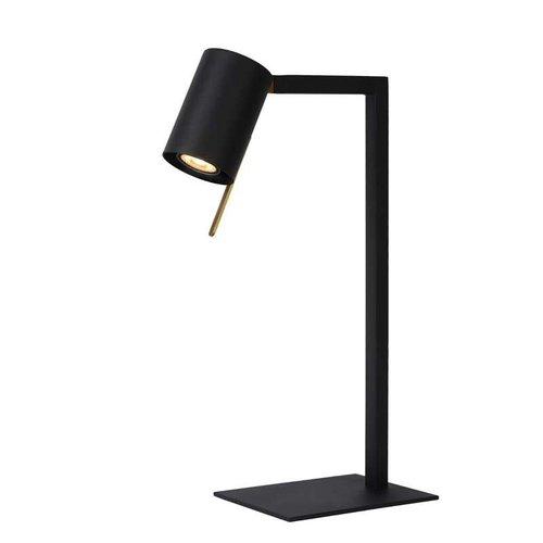 Lucide LESLEY - Bureaulamp - 1xGU10 - Zwart - 03525/01/30