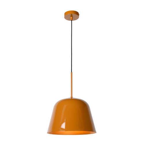 Lucide MISHA - Hanglamp - Ø 31 cm - 1xE27 - IP21 - Okergeel 30482/31/44