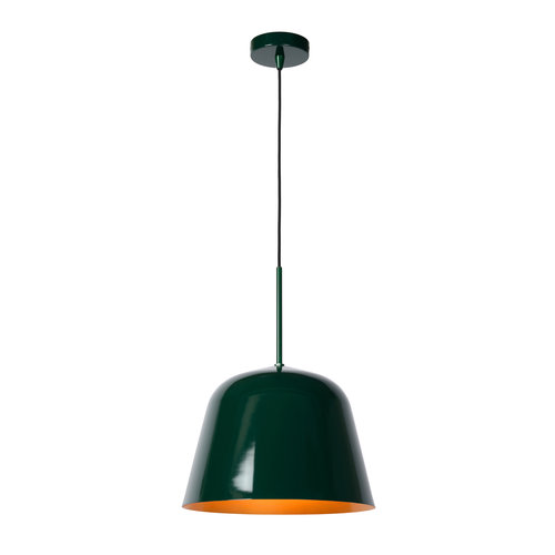 Lucide MISHA - Hanglamp - Ø 31 cm - 1xE27 - IP21 - Groen 30482/31/33