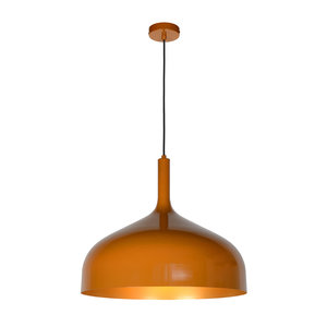 Lucide ROZALLA - Hanglamp - Ø 50 cm - 1xE27 - IP21 - Okergeel 30483/50/44