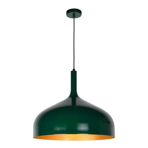 Lucide ROZALLA - Hanglamp - Ø 50 cm - 1xE27 - IP21 - Groen 30483/50/33