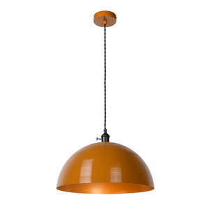 Lucide MARNE - Hanglamp - Ø 40 cm - 1xE27 - IP21 - Okergeel 30485/40/44