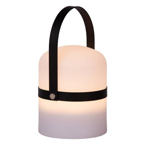 Lucide LITTLE JOE - Table lamp Outdoor - Ø 10 cm - LED Dim. - 1x3W 3200K - IP44 - 3 StepDim - White - 06802/01/30