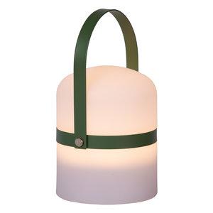 Lucide LITTLE JOE - Tafellamp Buiten - Ø 10 cm - LED Dimb. - 1x3W 3200K - IP44 - 3 StepDim - Wit - 06802/01/33