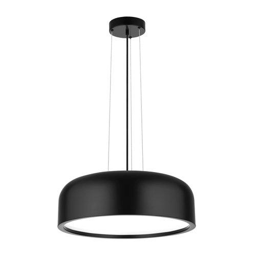Nova Luce Hanglamp Perleto zwart Ø 48 x 133 cm