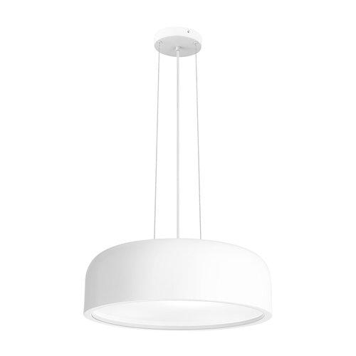 Nova Luce Suspension Perleto blanc Ø 48 x 133 cm