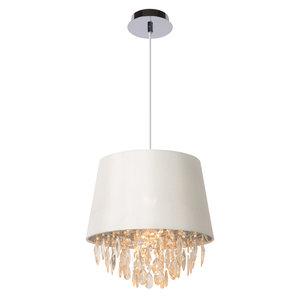 Lucide DOLTI - Hanglamp - Ø 30,5 cm - 1xE27 - Wit 78368/30/31