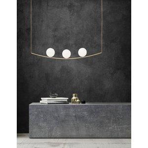 Nova Luce Hanglamp Vitton messing 122 x 15 x 120cm