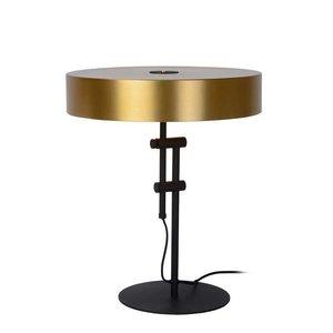 Lucide GIADA - Tafellamp - Ø 40 cm - 2xE27 - Mat Goud / Messing - 30570/02/02