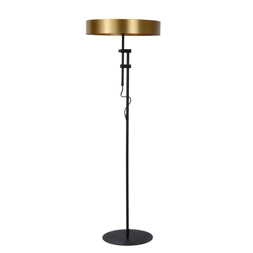 Lucide GIADA - Vloerlamp - Ø 45 cm - 2xE27 - Mat Goud / Messing - 30770/02/02