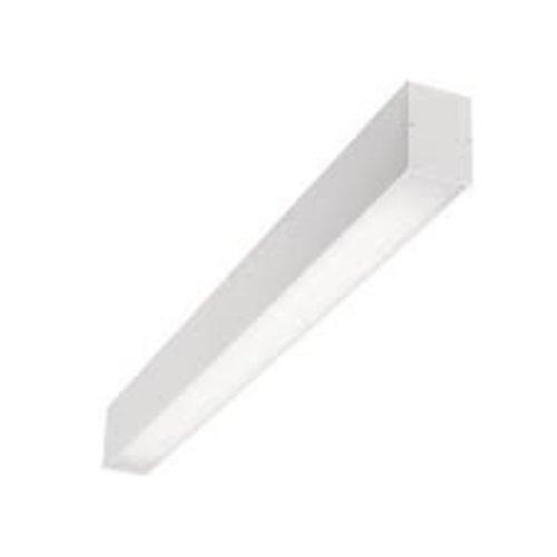 EXTERUS POWERLINE ON LED plafond lichtlijn 38x75mm WIT