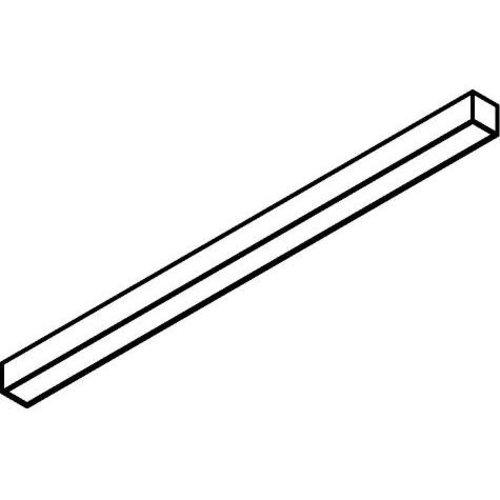 EXTERUS POWERLINE ON LED ceiling light line 38x75mm WHITE
