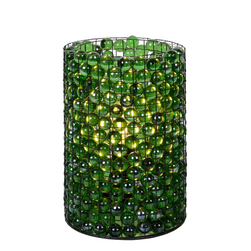 Lucide EXTRAVAGANZA MARBELOUS - Table lamp - Ø 15 cm - 1xE14 - Green - 78597/01/33