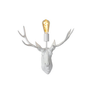 Lucide EXTRAVAGANZA CARIBOU - Wall lamp - 1xE27 - White - 47210/01/31