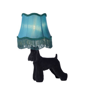Lucide EXTRAVAGANZA FILOU - Table lamp - Ø 36 cm - 1xE14 - Black - 10504/81/30