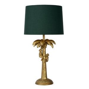 Lucide EXTRAVAGANZA COCONUT - Table lamp - Ø 30,5 cm - 1xE27 - Matt Gold / Brass - 10505/81/02
