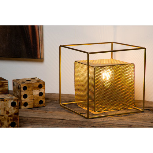 Lucide EXTRAVAGANZA MORRIS - Table lamp - 1xE27 - Matt Gold / Brass - 78591/01/02