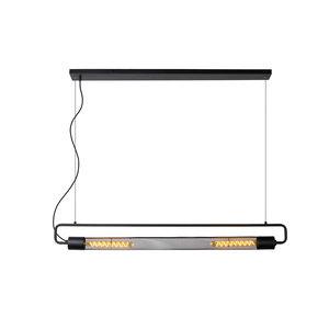 Lucide CALIXT - Hanglamp - 2xE27 - Zwart - 05433/02/30