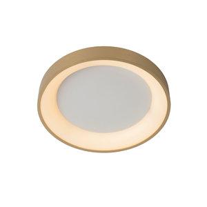 Lucide VIDAL - Plafonnière - Ø 28 cm - LED Dimb. - 1x21W 2700K - Mat Goud / Messing - 46103/20/02