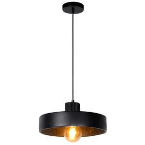 OPHELIA - Hanglamp - Ø 35 cm - 1xE27 - Zwart - 20419/35/30
