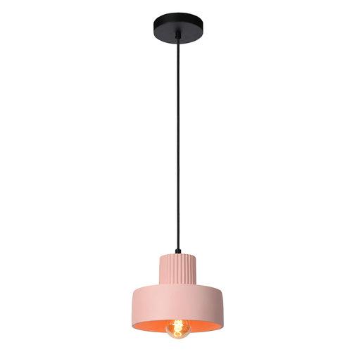 Lucide OPHELIA - Hanglamp - Ø 20 cm - 1xE27 - Roze - 20419/20/66