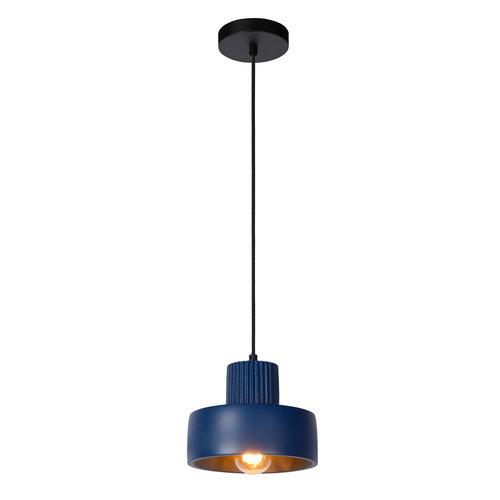 Lucide OPHELIA - Hanglamp - Ø 20 cm - 1xE27 - Blauw - 20419/20/35