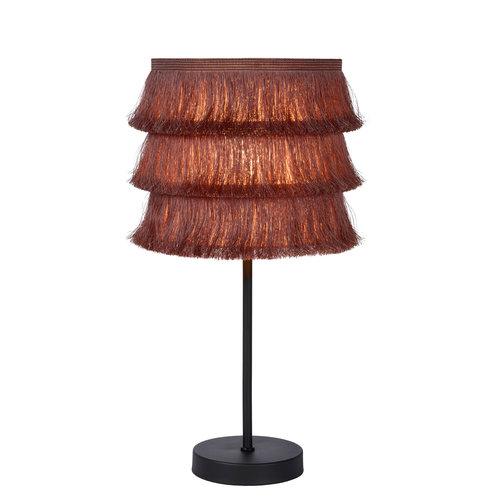 Lucide EXTRAVAGANZA TOGO - Tafellamp - Ø 18 cm - 1xE14 - Roze - 10507/81/66