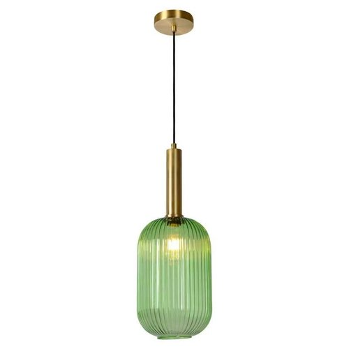 Lucide MALOTO - Hanging lamp - Ø 20 cm - 1xE27 - Green - 45386/20/33