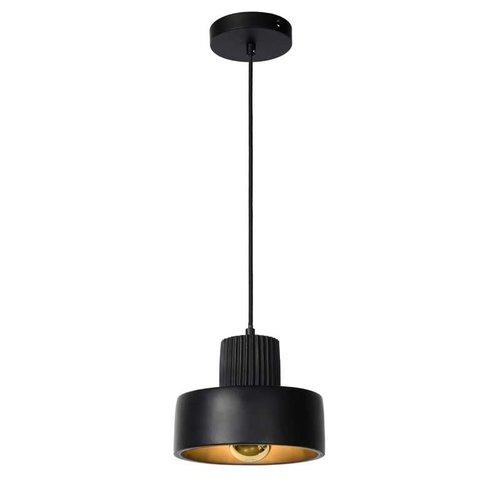 Lucide OPHELIA - Pendant lamp - Ø 20 cm - 1xE27 - Black - 20419/20/30