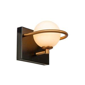 Lucide ISOBEL - Wall lamp Bathroom - 1xG9 - IP44 - Black - 30267/01/30