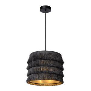 Lucide EXTRAVAGANZA TOGO - Lampe à suspension - Ø 25 cm - 1xE27 - Gris - 10407/25/36