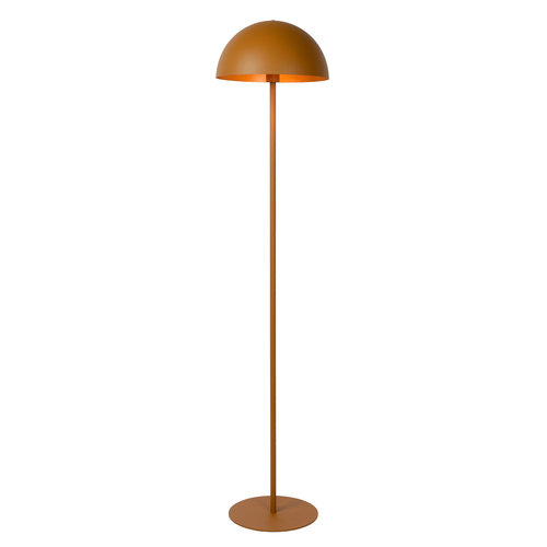 SIEMON - Vloerlamp - Ø 35 cm - 1xE27 - Okergeel - 45796/01/44