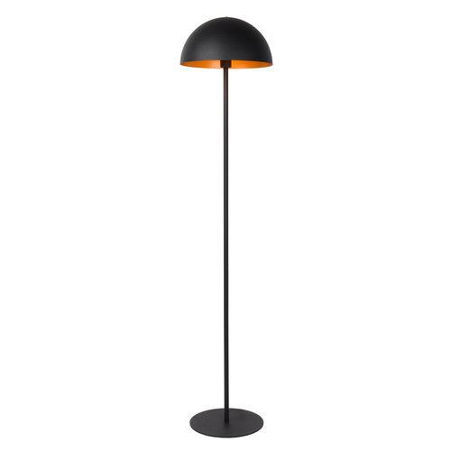 SIEMON - Vloerlamp - Ø 35 cm - 1xE27 - Zwart - 45796/01/30