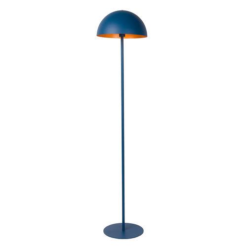 SIEMON - Vloerlamp - Ø 35 cm - 1xE27 - Blauw - 45796/01/35