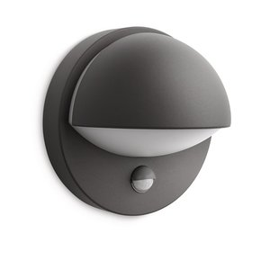 Philips myGarden June wall lamp with outside sensor