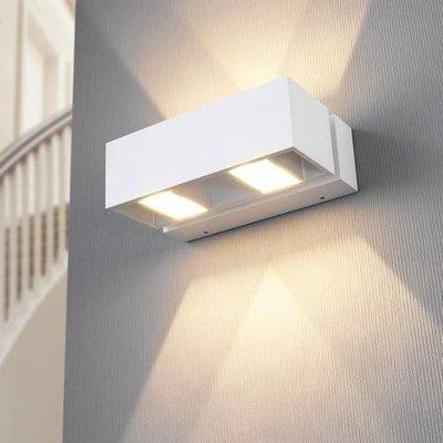 LioLights blanc lumière moderne de mur de LED IP54 MY361