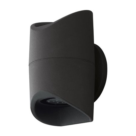 EGLO LED Wall lamp Abrantes 95076 black IP44