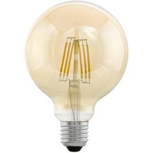 EGLO E27 Retro Filament LED lamp G95 4W 11522