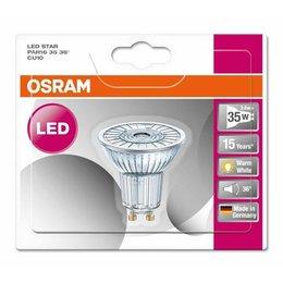 OSRAM LED 2.6-35W STAR WARM look blanc halogène GU10