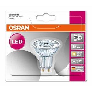OSRAM LED 2.6-35W STAR WARM WHITE GU10 Halogen look