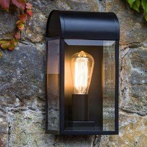 Astro Wandlamp Newbury 316 Zwart getextureerd IP44