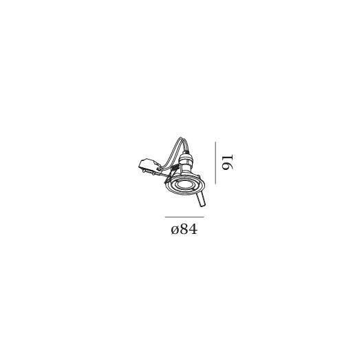Wever & Ducré Inbouwspot IP44 Rini 1.0 PAR16