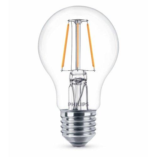 Philips E27 Retro Filament LED Classic A60 warm wit 4W