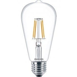 Philips E27 Retro Filament LED Classic ST64 warm wit 4.3W 57403400