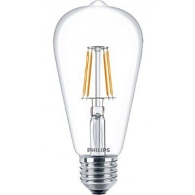 Philips E27 Retro Filament LED Classic ST64 warm wit 4.3W 57403400