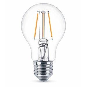 Philips E27 Retro Filament LED Classic A60 warm wit 6W