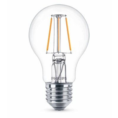 Philips E27 Retro Classique A60 Filament LED 6W blanc chaud