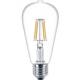 Philips E27 Retro Filament LED Classic ST64 warm wit 6W 57405800
