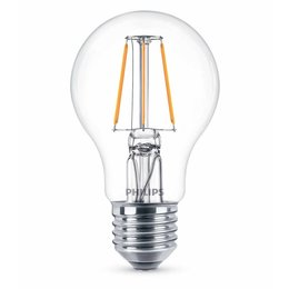 Philips E27 Retro Filament LED Classic A60 warm wit 6W DIM